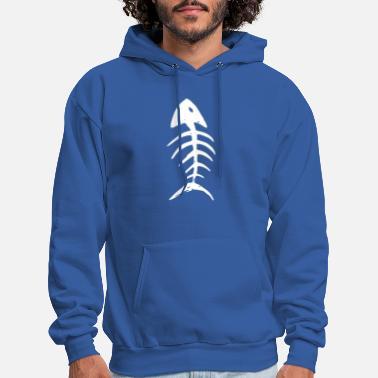 Bonefish 3xl* Taille M à XXL.. Fun Hooded Sweatshirt Sweat Fish Bone
