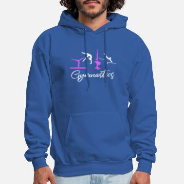 Gymnast Cute gymnastics aparatus for gymnasts - Men's Hoodie