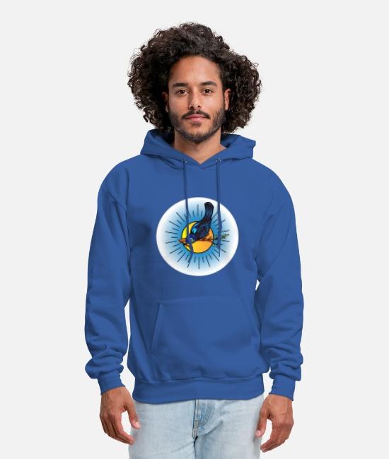 Nature Hoodies & Sweatshirts - Gralha Azul - Men's Hoodie royal blue