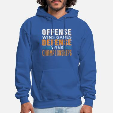 Offense Wins Games Defense Wins Championships-Funny Basketball Sweatshirt