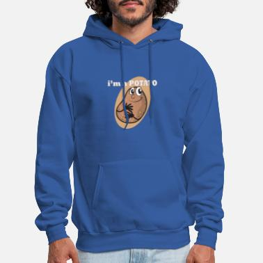 Couch I am Potato | Kartoffel | Couch potato - Men's Hoodie