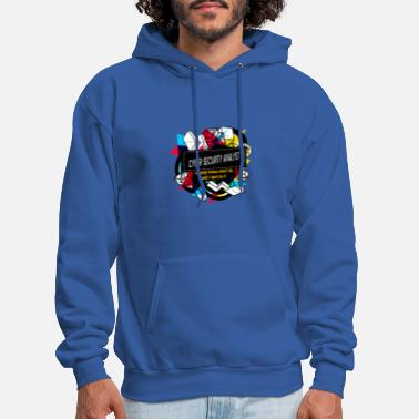 NOBODY KNOW WHAT I DO UNTIL I DON'T DO IT - CYBER - Men's Hoodie