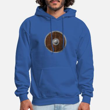 Middle Age Middle Ages wooden shield - Men's Hoodie