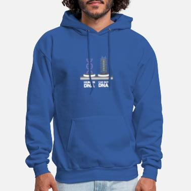 Enthusiast Car Enthusiast Human DNA Vs Car Guy DNA - Men's Hoodie