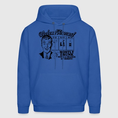 weekend forecast - Men's Hoodie
