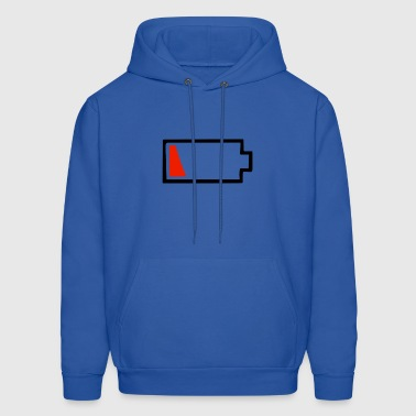 Battery Dying - Men's Hoodie