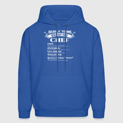 Best Birthday Gift Chef Cooker Love Foodie Grill F - Men's Hoodie