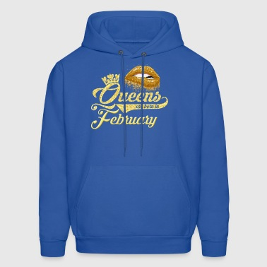 Queens Birthday February Gift T-shirt - Men's Hoodie