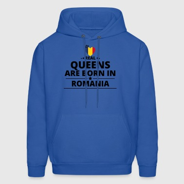 GESCHENK QUEENS LOVE FROM ROMANIA - Men's Hoodie