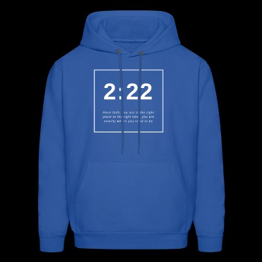 Angel Number 2:22 - Men's Hoodie