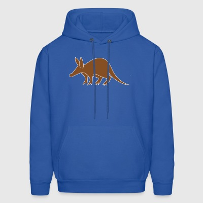 Animal Aardvark Tail Brown 44528 - Men's Hoodie