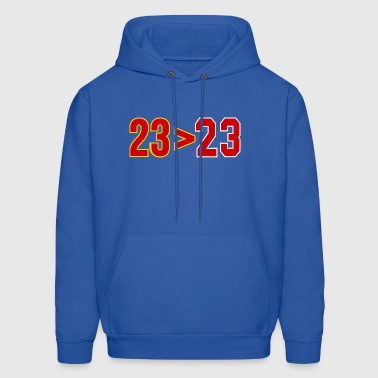 lebron better than jordan - Men's Hoodie