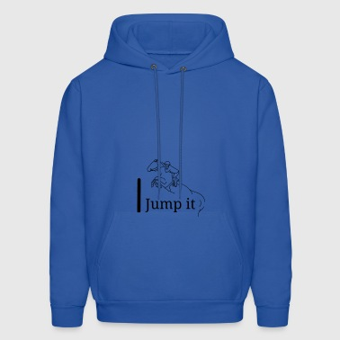Jump it black logo - Men's Hoodie