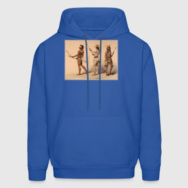 Lacrosse Native American Indian Iroquois Canadian - Men's Hoodie