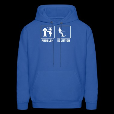 Funny water ski instructor gift sports shirt - Men's Hoodie