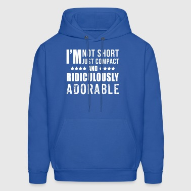 Funny Shirt For Short People. Gift For Kids/Boys - Men's Hoodie