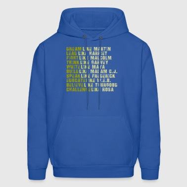 Black Power Black History Month Tees - Men's Hoodie