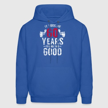 60th Birthday Funny Gift Idea Shirt distressed - Men's Hoodie