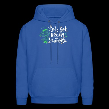 Leprechaun ready to Stumble St Patrick's Day Gift - Men's Hoodie