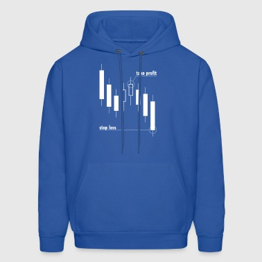 Stop loss and take profit - Men's Hoodie