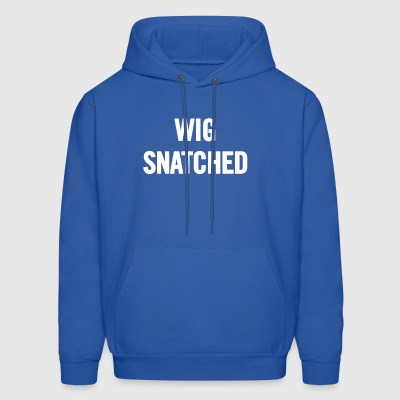 Wig Snatched White - Men's Hoodie
