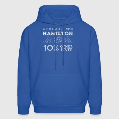 My Brain is 90% Hamilton Vintage T-Shirt from the - Men's Hoodie