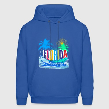 beach club florida - Men's Hoodie