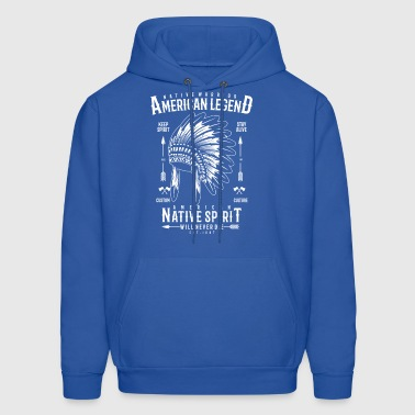 Native Warrior - Men's Hoodie