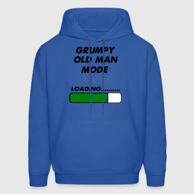 grumpy old man mode - Men's Hoodie