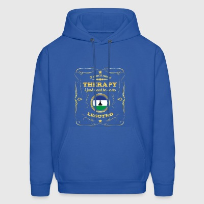 DON T NEED THERAPIE GO TO LESOTHO - Men's Hoodie