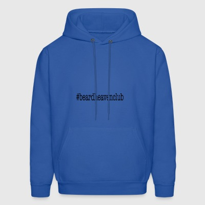Hashtag Beard Heaven Club - Men's Hoodie