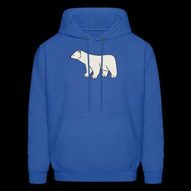 polar bear eisbaer nordpol north pole alaska9 - Men's Hoodie