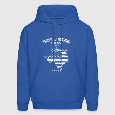 USA: Nothing In Like A Texas State Girl Gift - Men's Hoodie