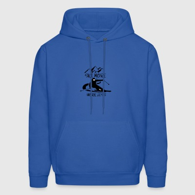 Ski More Work Less - Men's Hoodie