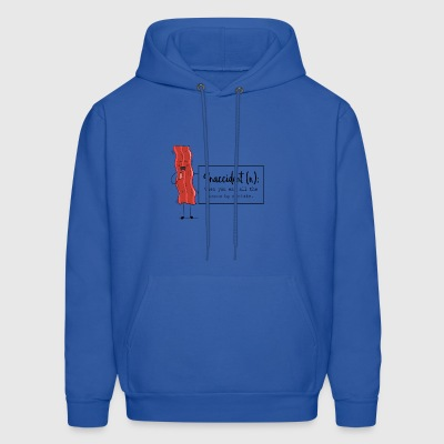 Snaccident When You Eat All The Bacon By Mistake - Men's Hoodie