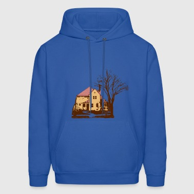 House & Tree - Men's Hoodie