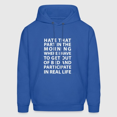 Hate That Part - Men's Hoodie