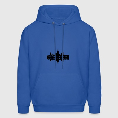 Chicago On The Lake - Men's Hoodie