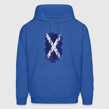 Flag of Scotland - Men's Hoodie