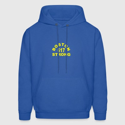 Boston 617 Strong - Men's Hoodie