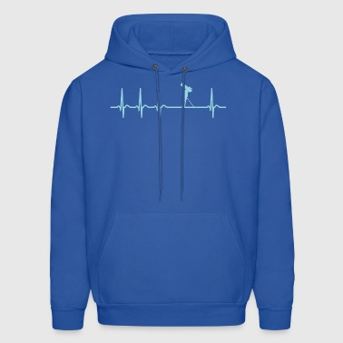 Satellite Spotting Heartbeat Cool Funny Shirt Gift - Men's Hoodie