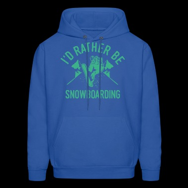Snowboarding Snowboarder Snowboard Cool Funny Gift - Men's Hoodie