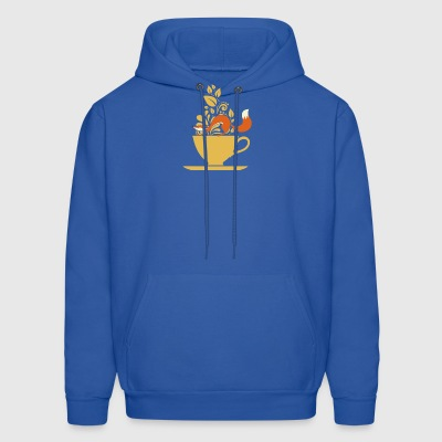 fox tea - Men's Hoodie