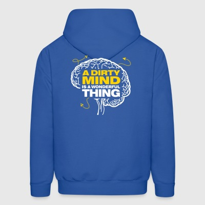 Dirty Thoughts Are Something Wonderful! - Men's Hoodie