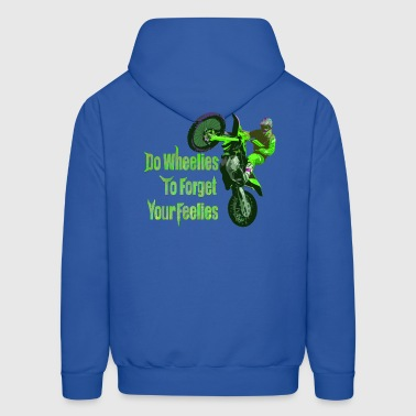 do wheelies - Men's Hoodie