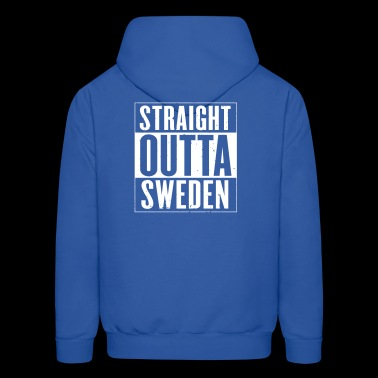 STRAIGHT OUTTA SWEDEN - Men's Hoodie