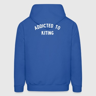 Addicted to Kitesurfing - Men's Hoodie