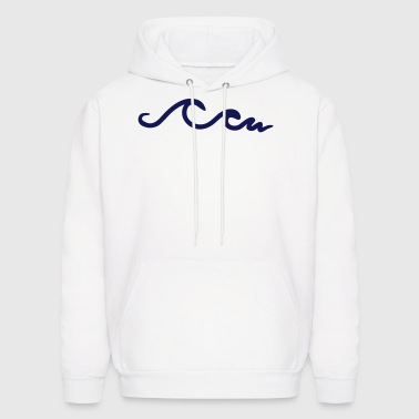 waves, wave, ocean - Men's Hoodie