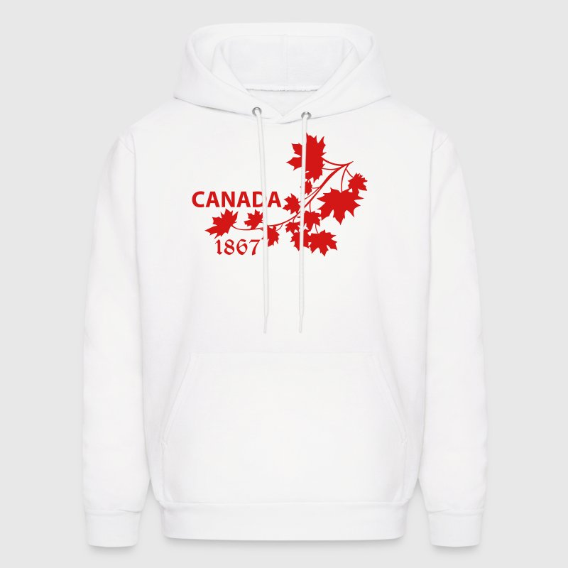 SHOULDER MAPLE LEAF canada BRANCH.ai - Men's Hoodie