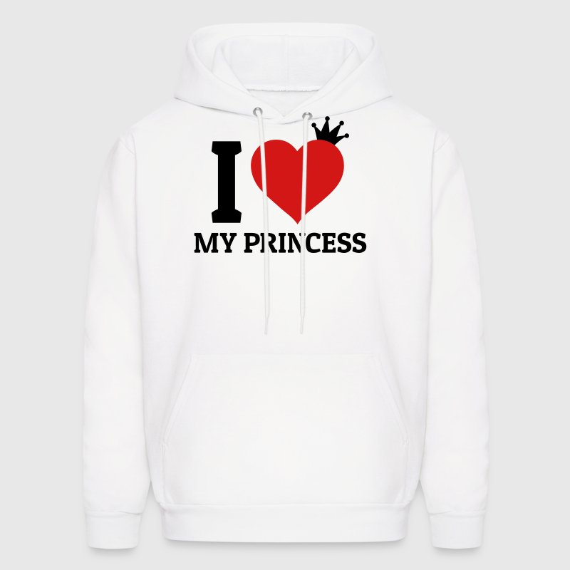 I love my Princess - Men's Hoodie